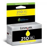 Lexmark originál ink 14L0177E, #210XL, yellow, return, 1600str.,