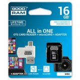 Goodram All-In-One, 16GB, sada micro SDHC, adaptéru a čtečky kar