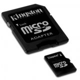 Kingston Micro SDHC Memory Card, 16GB, micro SDHC, SDC4/16GB, pr