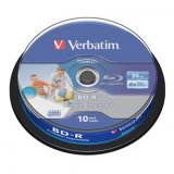 Verbatim BD-R SL, Hard Coat protective layer, 25GB, Pack Spindle