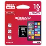Goodram Micro Secure Digital Card, 16GB, micro SDHC, M1AA-0160R1