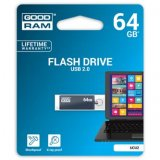 Goodram USB flash disk, 2.0, 64GB, UCU2, šedá, UCU2-0640E0R11