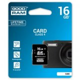 Goodram Secure Digital Card, 16GB, SDHC, S400-0160R11, Class 4