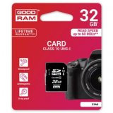 Goodram Secure Digital Card, 32GB, SDHC, S1A0-0320R11, UHS-I, pr