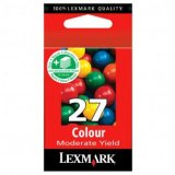 Lexmark originál ink 10NX227E, #27+, color, 160str., Lexmark Z13