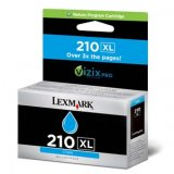Lexmark originál ink 14L0175E, #210XL, cyan, return, 1600str., h