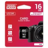 Goodram Secure Digital Card, 16GB, SDHC, S1A0-0160R11, UHS-I