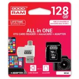 Goodram All-In-One, 128GB, sada micro SDXC, adaptéru a čtečky ka