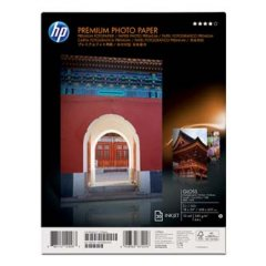 HP Premium Plus Gloss Photo Paper, foto papier, lesklý, biely, A