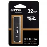 TDK USB flash disk, 2.0, 32GB, TF1000, čierny, t78780