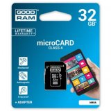 Goodram Micro Secure Digital Card, 32GB, micro SDHC, M40A-0320R1