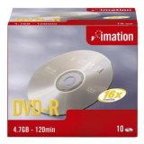 Imation DVD-R, i21976, 10-pack, 4.7GB, 16x, 12cm, General, Stand