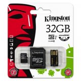 Kingston Micro SDHC Card Class 10 Gen2 - Mobility Kit, 32GB, mic
