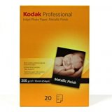 Kodak Professional Inkjet Photo paper, Metallic, papier, biely,